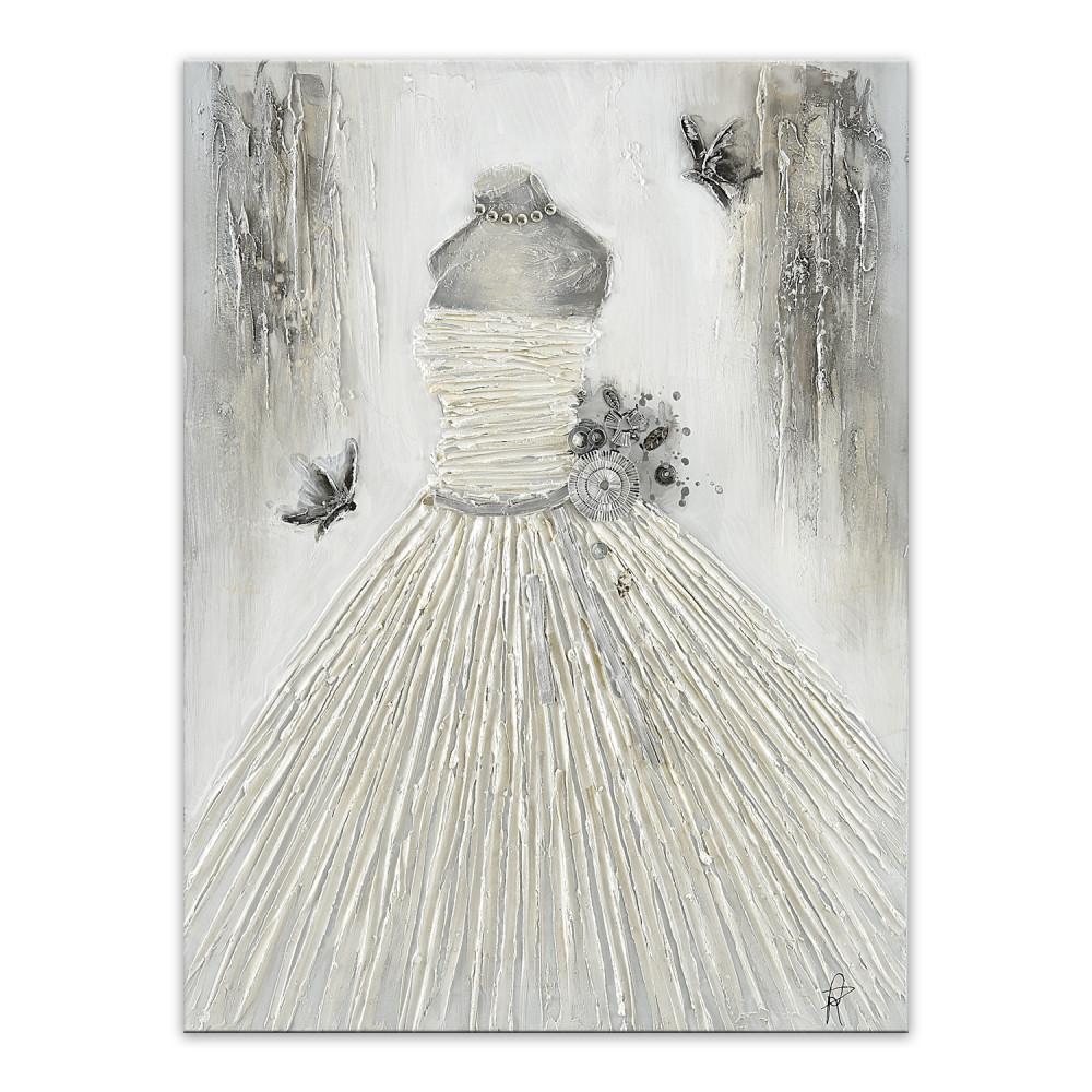 AS449X1 - Weißes Kleid