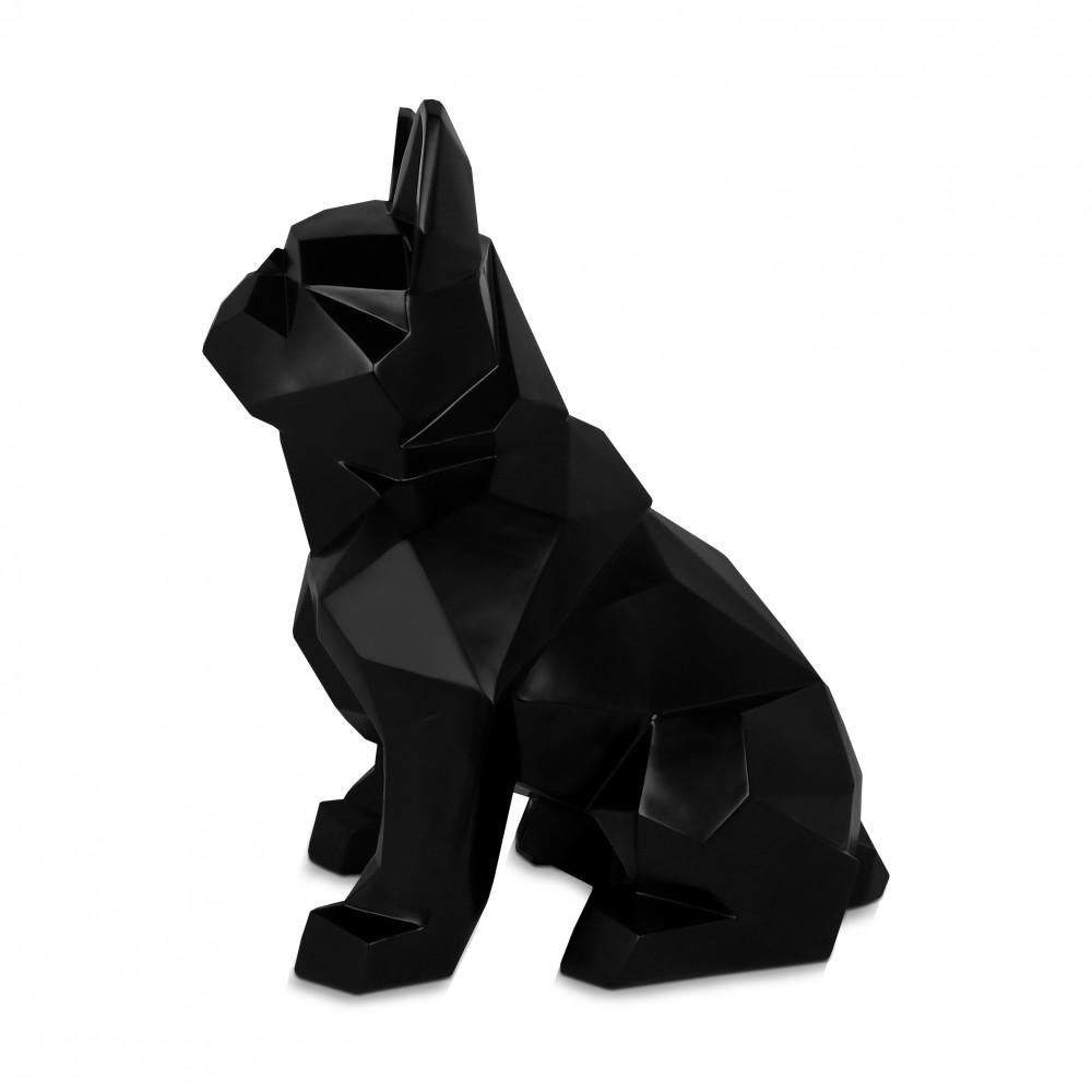 D6253SB - Facettierte sitzende Bulldogge