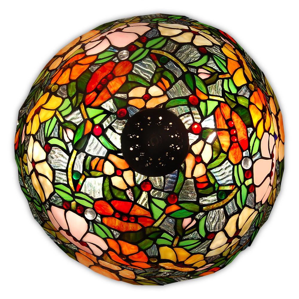 GF16715 - Florale Tischlampe