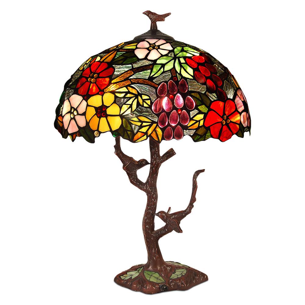GF17222 - Florale Tischlampe
