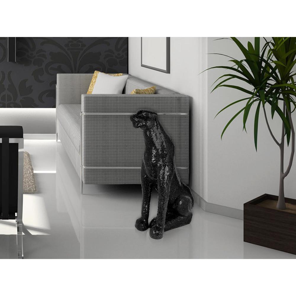 KS726CBB - Sitzender Panther
