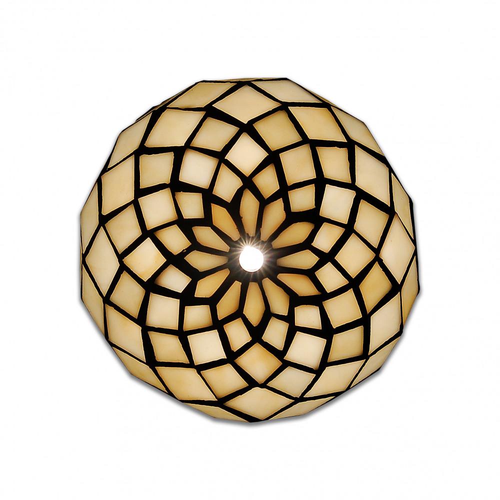 THA1816 - Nachttischlampe Kugel mit Perlen